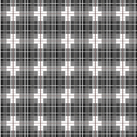 classic contrast: seamless plaid pattern of design.