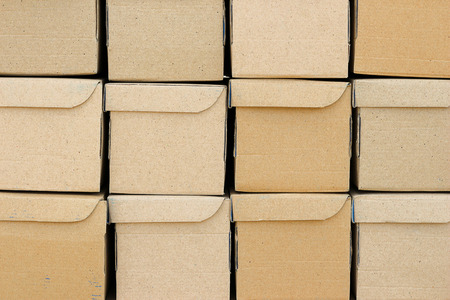 the brown carton boxes  background Imagens - 37911441