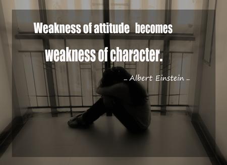 citations: Inspirational quote  by Albert Einstein on sunset  blurred background