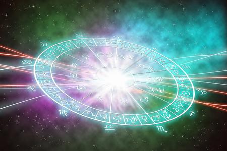 星座の概念の背景。 写真素材