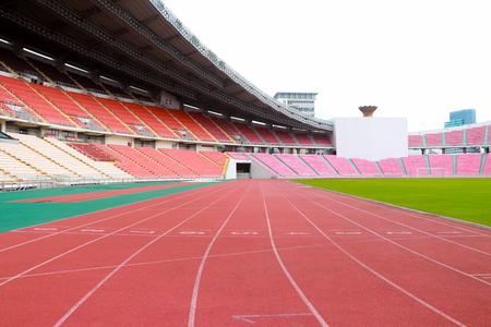 Bangkok,Thailand- August 4,2017: Rajamangala National Stadium  a part of the Hua Mak Sports Complex, is the national stadium of Thailand and the home stadium for the Thailand national football team. 新聞圖片