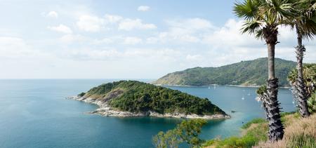 Laem Phrom Thep, Beautiful Andaman sea view in Phuket island,