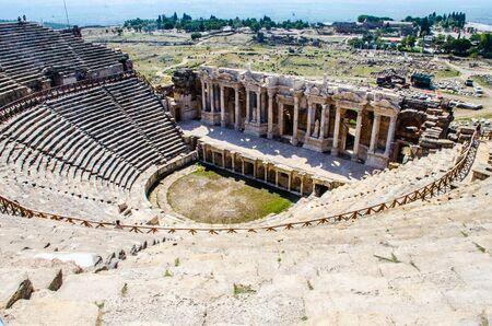 Hierapolis in Turkey near Pamukkale Stock Photo