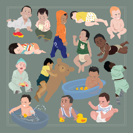infant: baby character