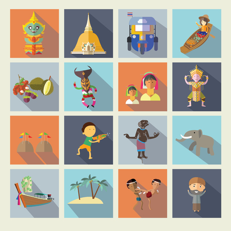 Tajlandia ikony
