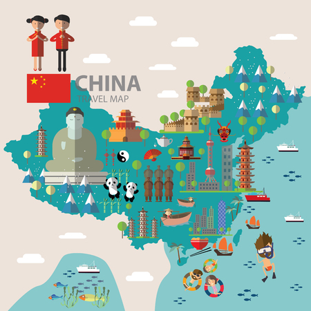 China travel map