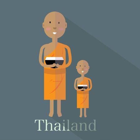 Thailand monk