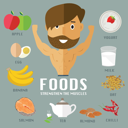 foods for build muscles