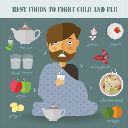 food fight: best food to fight cold and flu
