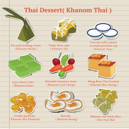thailand culture: Thai dessert (Khanom Thai)