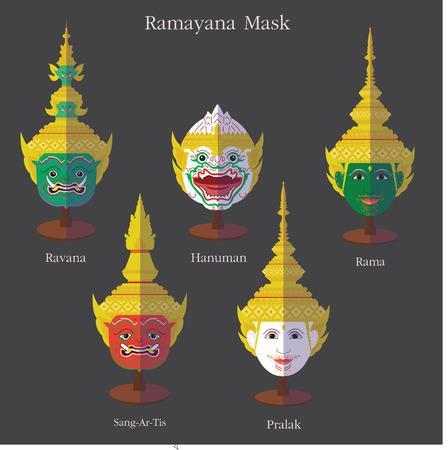 Ramayana mask eps 10