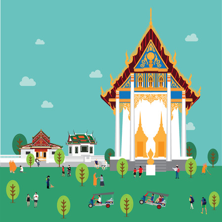 welcome to Thailand Illustration