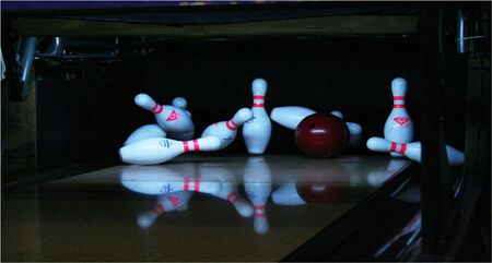 Strike in bowling