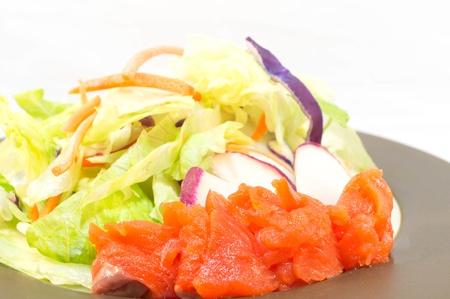 Food   Drink Arrow Food Arrow Appetizer Salad Stock Photo - 16778289