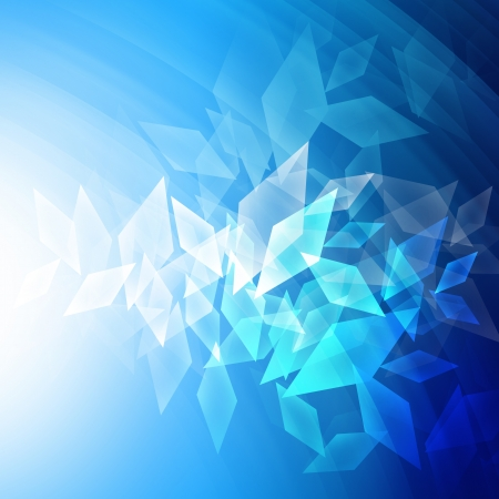 trapezoid: Trapezoid abstract background