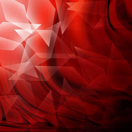 trapezoid: Trapezoid abstract background red Stock Photo