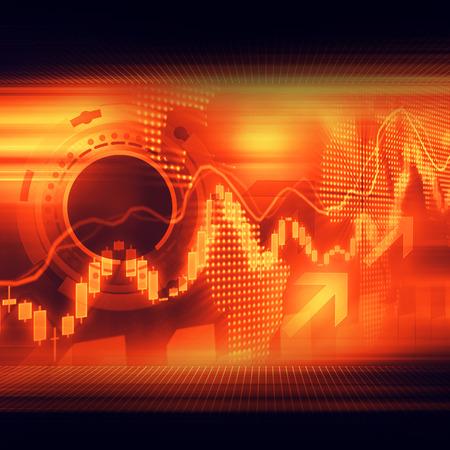 Stock Market Graphs 스톡 콘텐츠