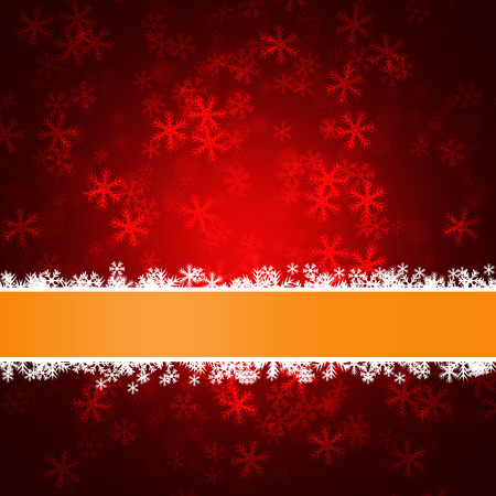 delightful: Winter delightful snowfall background