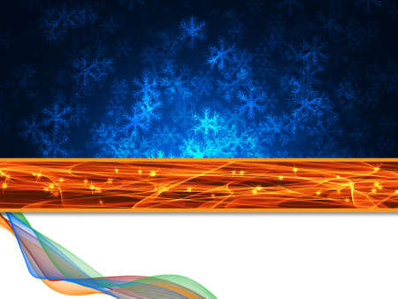 delightful: Winter delightful snowfall background