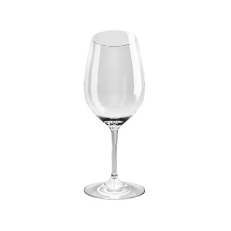 port wine: Empty wine glass. isolated on a white background