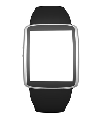 wristbands: Smart watch isolated on white background