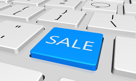 sale with word key or keyboard