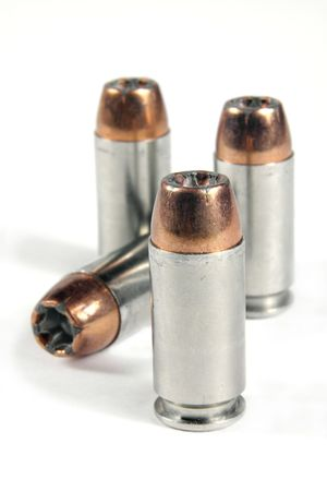 caliber: .40 caliber, hollow point bullets.