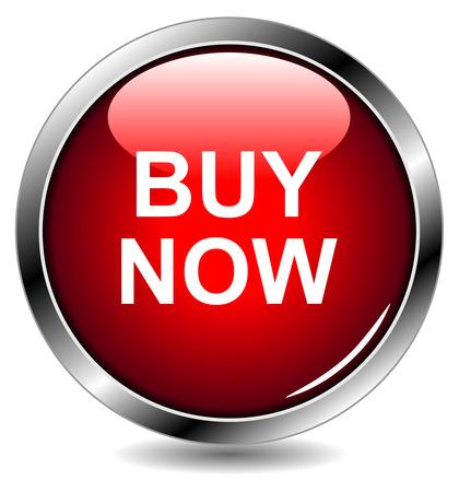 EPS10 buy now  button Stock Vector - 6844354