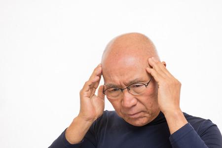Severe headache for Japanese SR. Reklamní fotografie