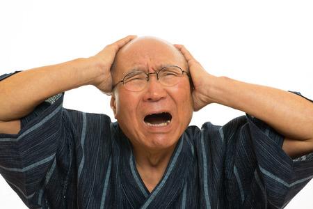 日本シニア甚平に悲嘆