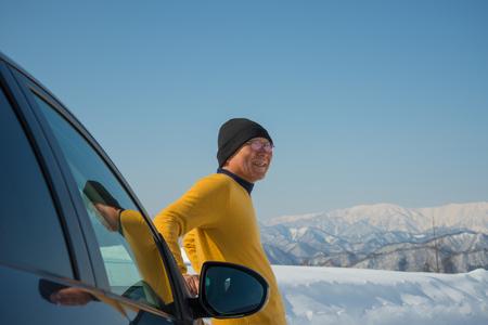 Japanese to drive snow SR.