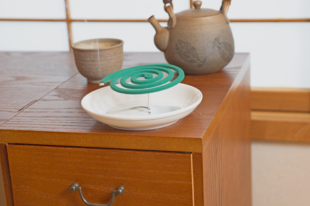 most popular: Mosquito coils and Japan tea