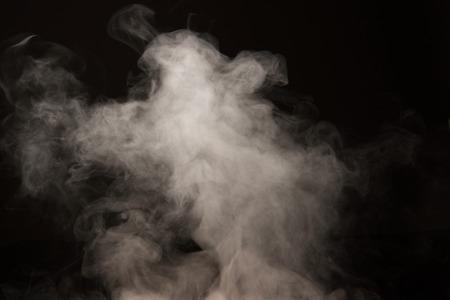 Steaming of the background material Reklamní fotografie