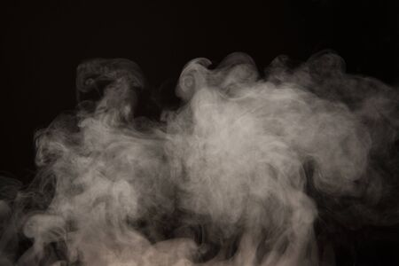 Steaming of the background material Stock Photo