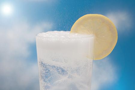 夏画像炭酸水
