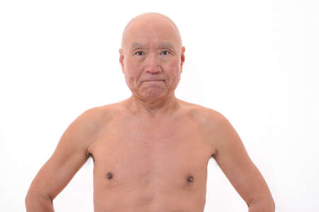 A healthy body of Japanese senior citizens Stock Photo