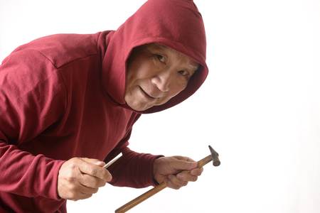 Image of the thief Stock Photo
