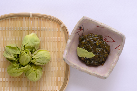 Butterbur miso fukinoto