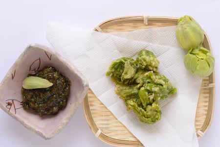 Fukinoto Tempura and miso butterbur