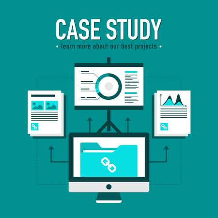 Case study with best projects presentation