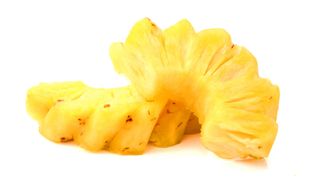 aspects: pineapple isolated on white background RIPE