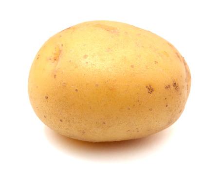 potatoes isolated on white background Zdjęcie Seryjne