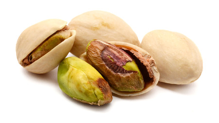 Pistachios nuts Stock Photo