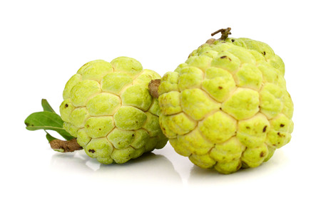 Sugar apple isolate on white background 写真素材