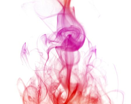 A shot of the shapes made by cigarette smoke Stok Fotoğraf