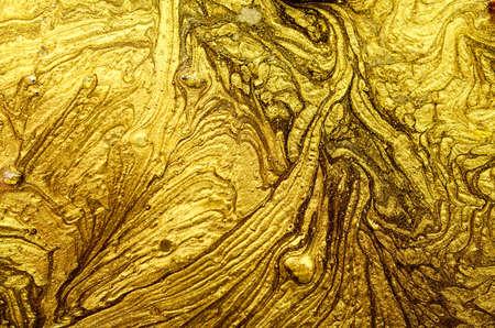 Gold powder. Banque d'images