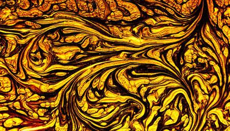 Texture of golden paint