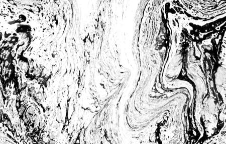 Abstract ink fluid marbled texture. Luxurious granite, marble mineral pattern wallpaper. Banque d'images