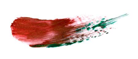 Red lipstick stroke (sample). Фото со стока