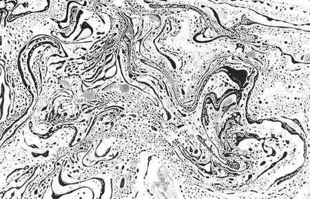 Monochrome abstract pattern. Marble imitation background. Фото со стока